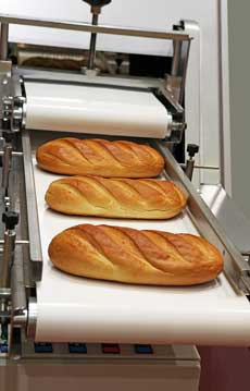 bakery stuff conveying food grade PU belt HIC Universal