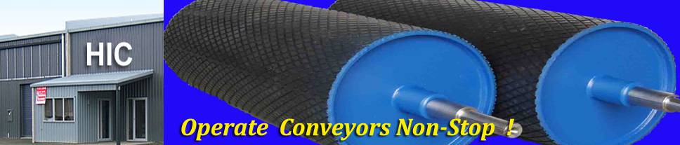Tail Pulley Conveyor Manufacturers, Direction Reversing Snub Pulleys