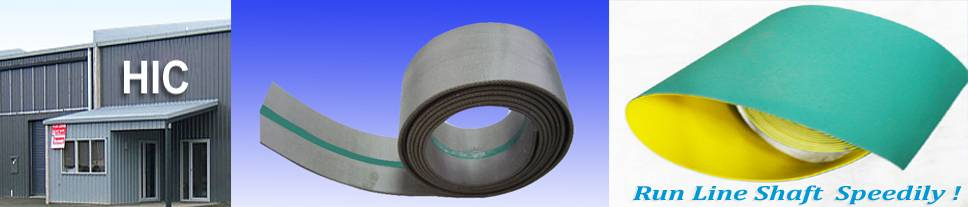 Rubberized Nylon Flat Transmission Belt Manufacturers