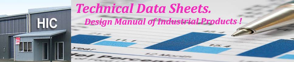 industrial products technical data sheets, rubber-products technical data sheets HIC, engineering products technical data sheets HIC