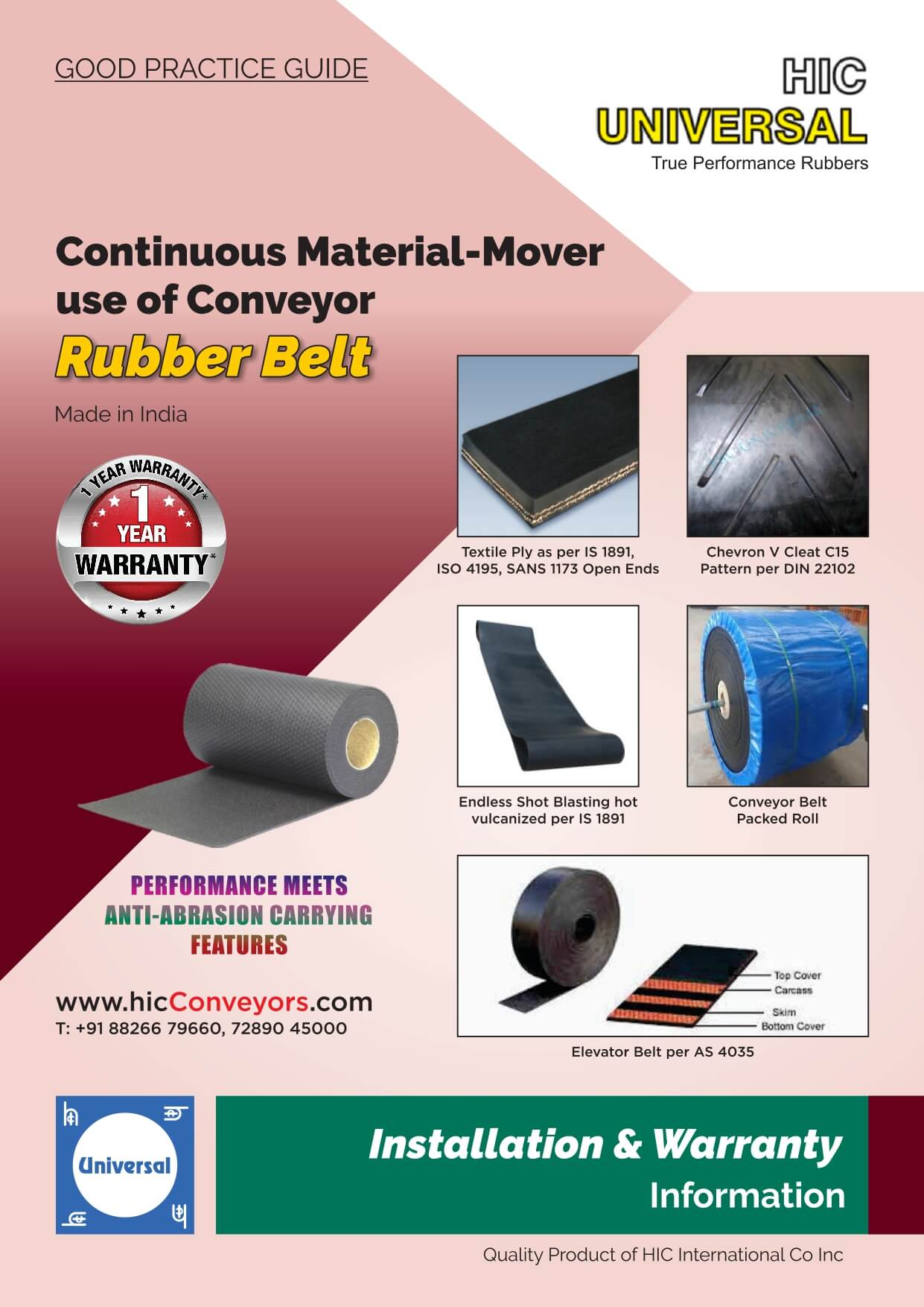 Installation-of-BELT-RUBBER-Conveyor