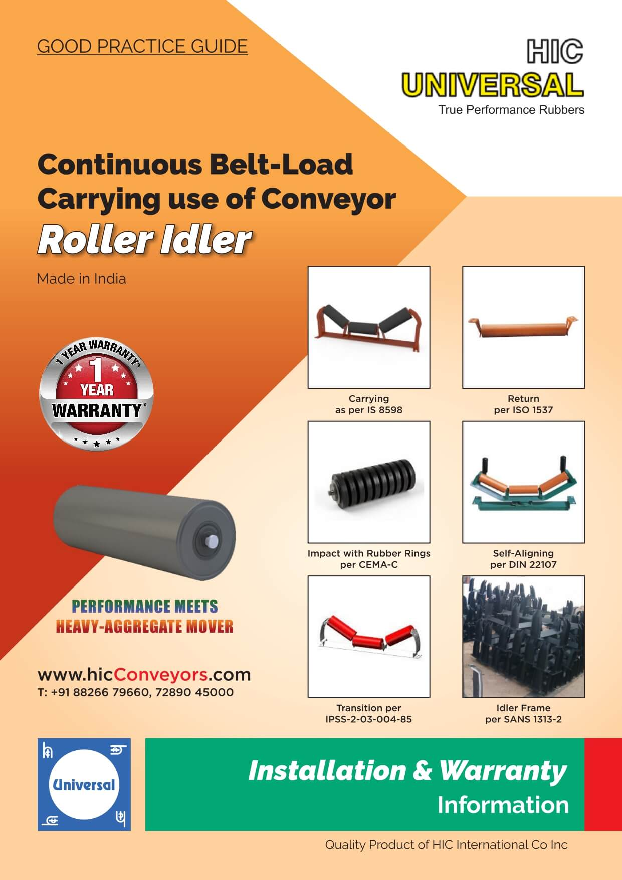 Installation-of-IDLER-Conveyor-Carrying-Roller