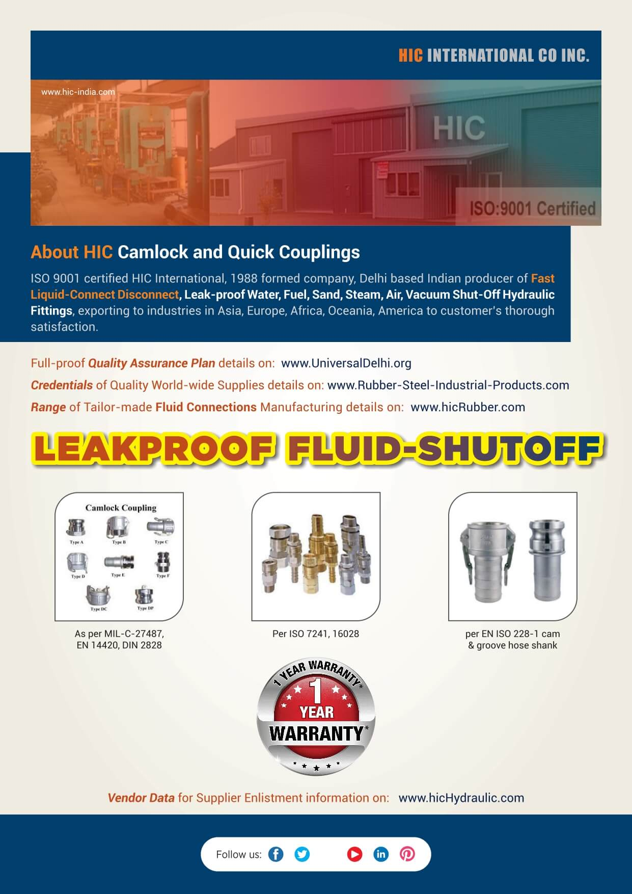Literature-FITTING-Connector-Camlock-N-Quick-Couplings