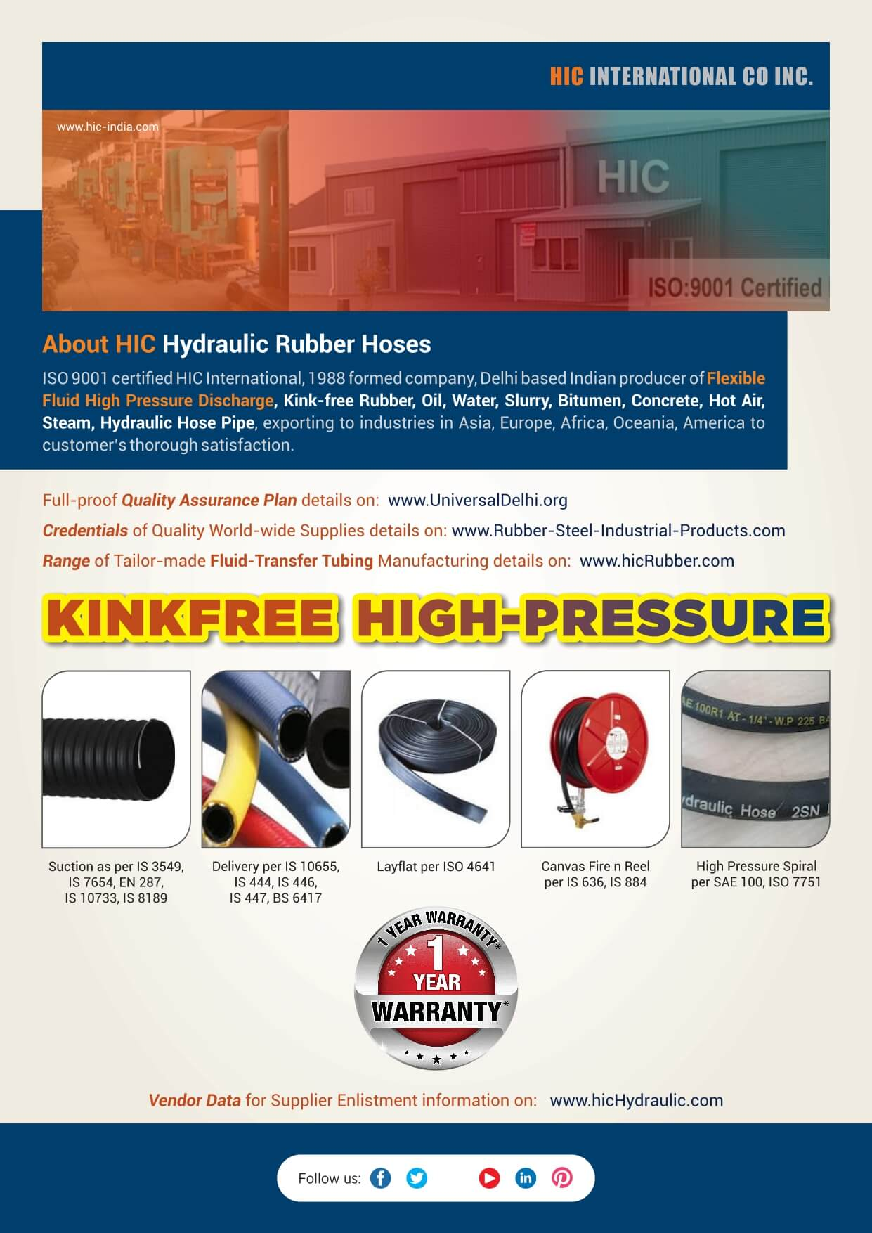 Literature-HOSES-Hydraulic-Rubber