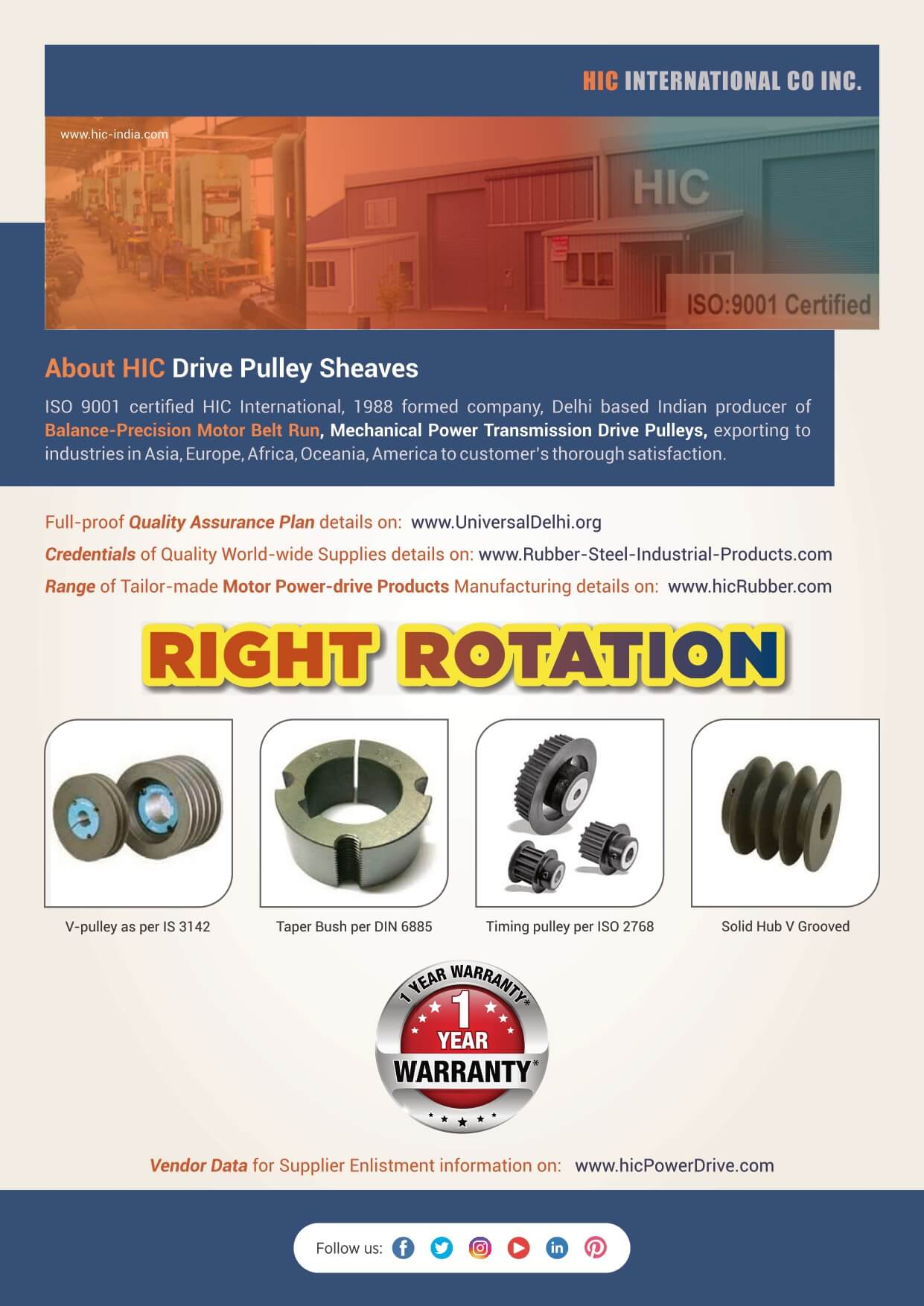 Literature-PULLEY-Drive-Sheaves-HIC-India