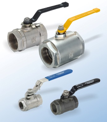 2-Way Low Pressure Ball Valve 70 Bar Ma